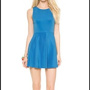 Alice + Olivia Monah Fit-and-Flare Dress